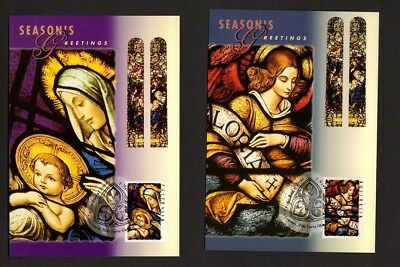 Australia Maxi/Postal Cards Christmas 1995 Set of 3