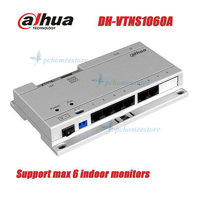 Dahua DH-VTNS1060A POE Switch for Dahua IP System Indoor Monitor + Power Adapter