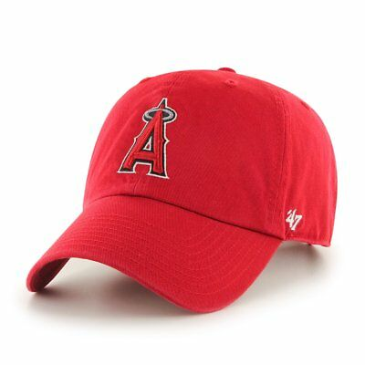 47 Brand Relaxed Fit Cap - MLB CLEAN UP Los Angeles Angels