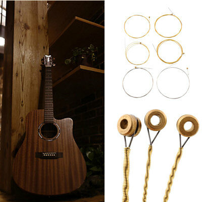 1 Set 6 Steel Strings For Acoustic Electric Guitar 150XL 0.813MM 1.016MM 1.32MM