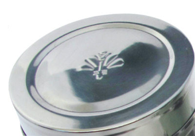 Candle Travel Tins  x 100 - Brand New - Round Shiny with lid design