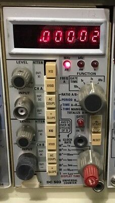Tektronix DC 503 Universal Counter
