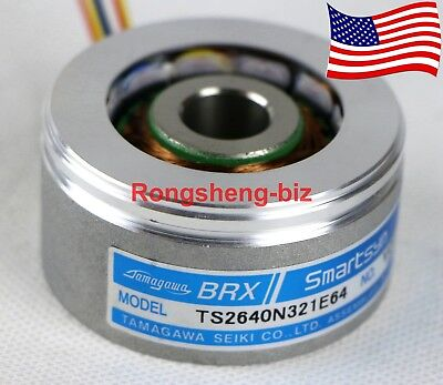 New Tamagawa BRX TS2640N321E64 Smartsyn Rotary Resolver Encoder - Ship From USA
