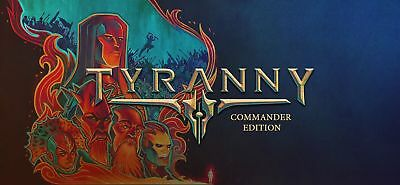 Tyranny - Commander Edition- PC Global Play- Not Key/Code - Günstigst
