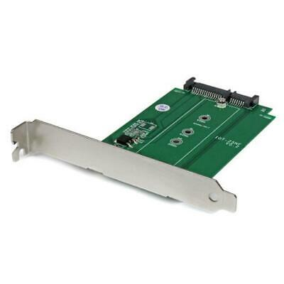StarTech M.2 to SATA PCI / PCIe slot mounted SSD adapter converter