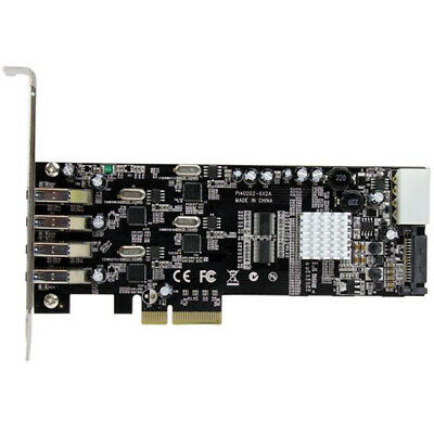 StarTech 4Port PCIe USB 3.0 Controller Card w/ 4 Independent Channels