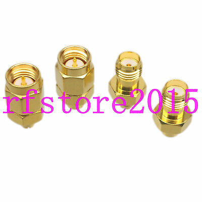1pce Adapter Connector SMA to SMP Straight for VHF Microwave Coaxial