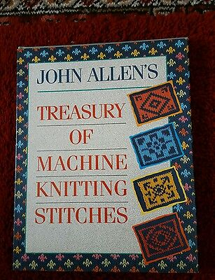 Treasury of machine knitting book please see description and photos