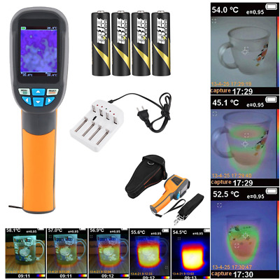 Thermal Imaging Camera IR Infrared Thermometer Imager -20~300 °C 0.3MP 6HZ FT