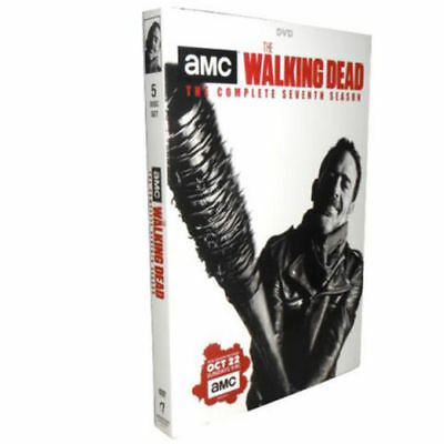 The Walking Dead: The Complete Season 7 (DVD, 2017,5-Disc Set)