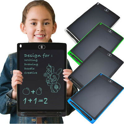 8.5'' inch Digital LCD Writing Drawing Tablet Pad Graphic Boards Notepad ff