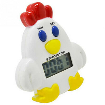 Lovely Mini Chicken Kitchen 99 Minutes 59' Cooking Mechanical Timer Alarm Bell