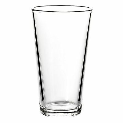 AMERICAN LAGER V-Shape Beer/ Soft Drink Glass Tumbler 500ml (set of 12) by Sahm