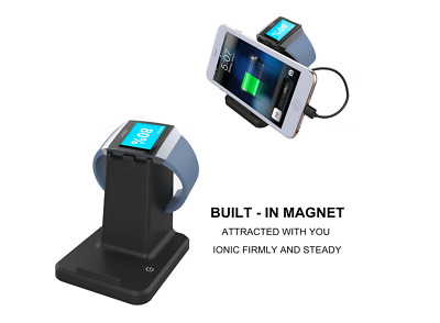 USB2.0 Charging Stand Dock Station Charger for Fitbit Ionic Watch Holder lot v