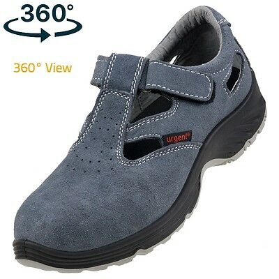 Safety Sandal Trainers Shoes Boots Hiker Work Steel Toe Cap 302 S1 Size 3-12 New
