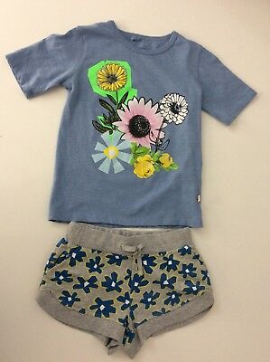 Stella McCartney Girls Outfit Set, Size Age 6, Shorts & T Shirt, Vgc