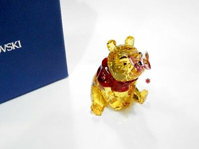 Swarovski Winnie the Pooh with Butterfly Disney Crystal Authentic Figure 5282928