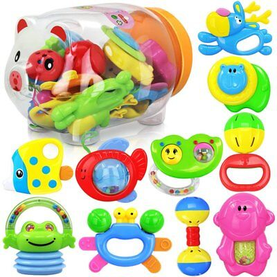 Baby Rattles TOYMYTOY Baby Rattles and Teething Toys in a Bottle (11PCS) Y230