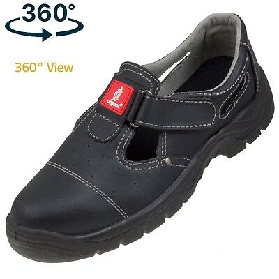 Safety Sandal Trainers Shoes Boots Hiker Work Steel Toe Cap 303 S1 Size 3-12 New