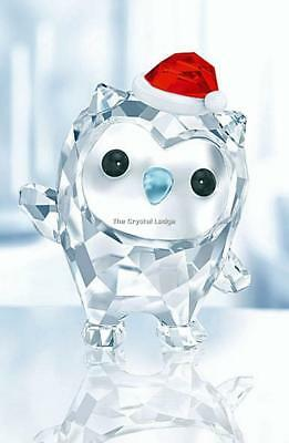 Ich Habe Luck Had New 5270265 Swarovski Original Figurine Hoot the Owl