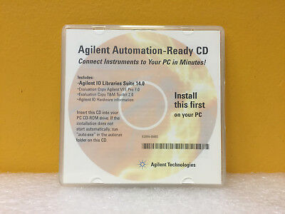 Agilent / HP E2094-60003 Agilent Libraries Suite 14.0 VEE Pro T+M ToolKit. New!