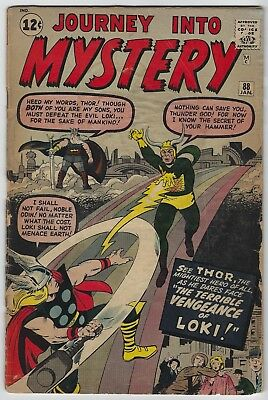 Journey into Mystery #88 (1963 Marvel) 2nd App Loki, Stan Lee, Jack Kirby, Fa/G-