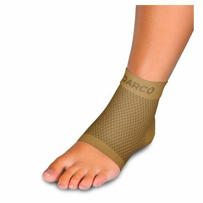 Darco DCS Plantar Fasciitis Sleeve, Supportive Arch Compression, DCS-PF, Tan