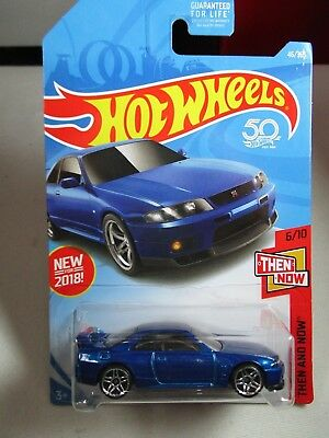 Hot Wheels 2018 -1:64  Nissan Skyline GT-R R33  New for 2018 46/365