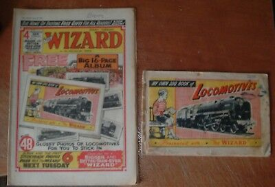 Wizard Comic # 1784 ( 1960 ) And Completed Free Gift ~ Scarce