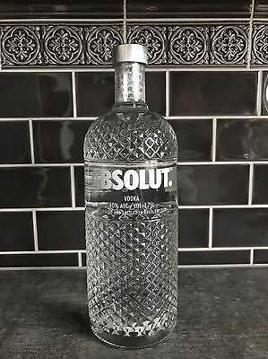 NEW ! ABSOLUT Vodka GLIMMER 1.75 L - U.K. Edition limited to 600 >>> RARE