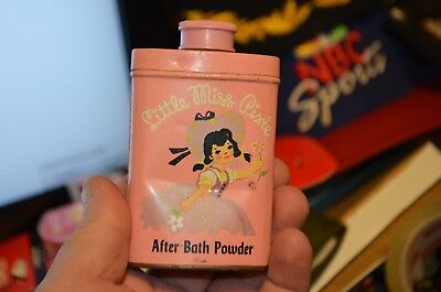 Vintage Little Miss Pixie Talcum Powder Tin by Lander