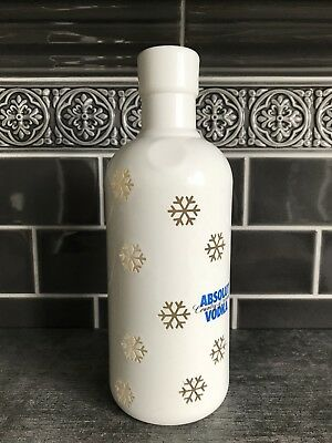 Absolut Vodka Snowflake Argentina 750 Ml * Rare Edition * Sammlerzustand * Top !
