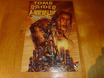 Tomb Raider / Withcblade  December 1997 Comic