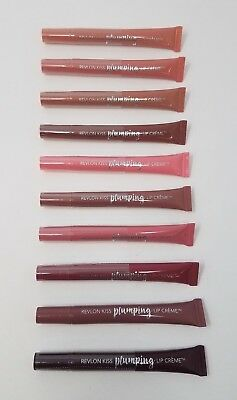 Revlon KISS Plumping Lip Creme Many Different Shades! - Free Shipping