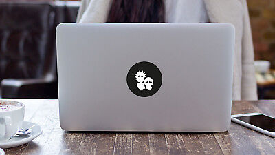 Rick and Morty Sticker Decal Vinyl for Apple Macbook Air Pro Laptop