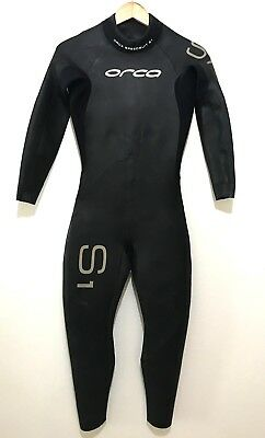 eb1e125451 ORCA MENS S1 Full Triathlon Wetsuit Size 4 (Extra Small) Speed Suit ...