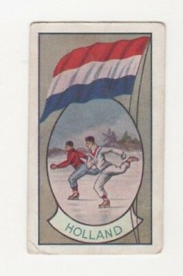 Allen's Confectionery - Sports and Flags of Nations - Holland Ice Skating