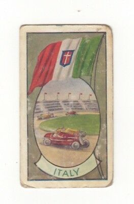 Allen's Confectionery - Sports and Flags of Nations - Italy Motor Racing