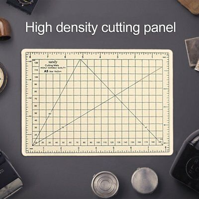 Double Color A5 PVC Sewing Cutting Mats Office Students Engraving Cutting Mat F7