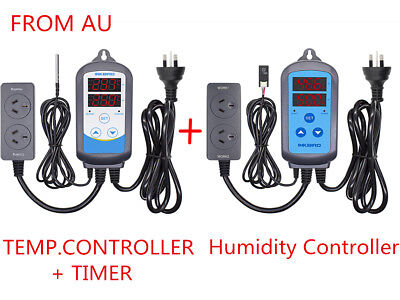 ITC-310 Digital Temperature Controller + HUMIDITY Hygrometer thermostat heater