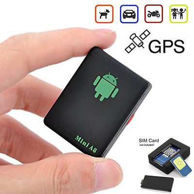 Global Car Mini GPS Tracker Vehicle Pets Realtime GSM Tracking Locator Device CA