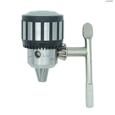 "Bodee JT33 Taper Mounted Drill Chuck with Chuck Key 1/32"" - 1/2"" Capacity"