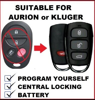 Toyota Kluger Remote Control Keyless Entry Fob 2007 2008 2009 2010 Aurion