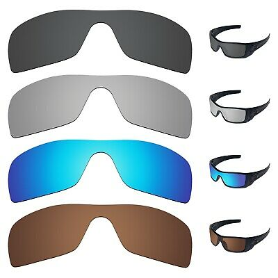 Tintart Polarized 4x Replacement Lenses for-Oakley Batwolf OO9101 Sunglass Frame
