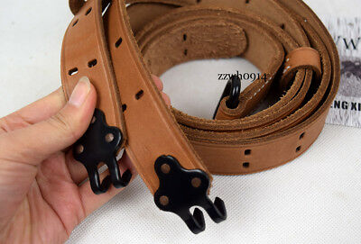 WWII US Army Garand Rifle M1907 Leather Sling