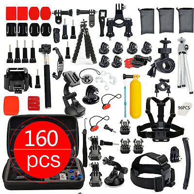 Accessories Pack Kit Head Chest Monopod Bike Surf MountGoPro Hero 7 6 5 4 3 2 AU