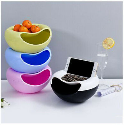 Plastic Creative Shape Bowl Perfect For Seeds Nuts And Dry Fruits Storage Box