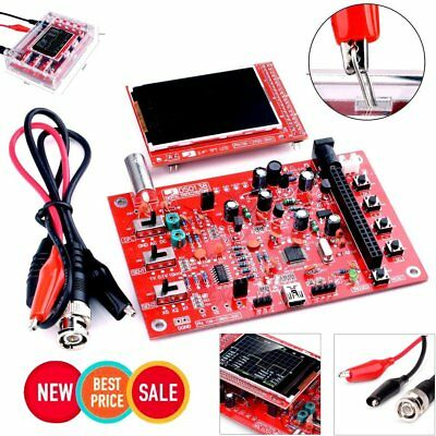 """DSO138 2.4"""" TFT Digital Oscilloscope Welded/DIY Welded Parts Kit/Acrylic Case UC"""
