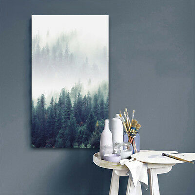 Modern Forest Landscape Wall Art Canvas Poster Prints Home Decoration Unframed