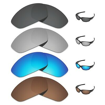 Tintart Polarized 4x Replacement Lens for-Oakley Straight Jacket 2007 Sunglass
